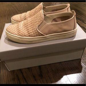 The Flexx Beige Slip On Shoes Size 6